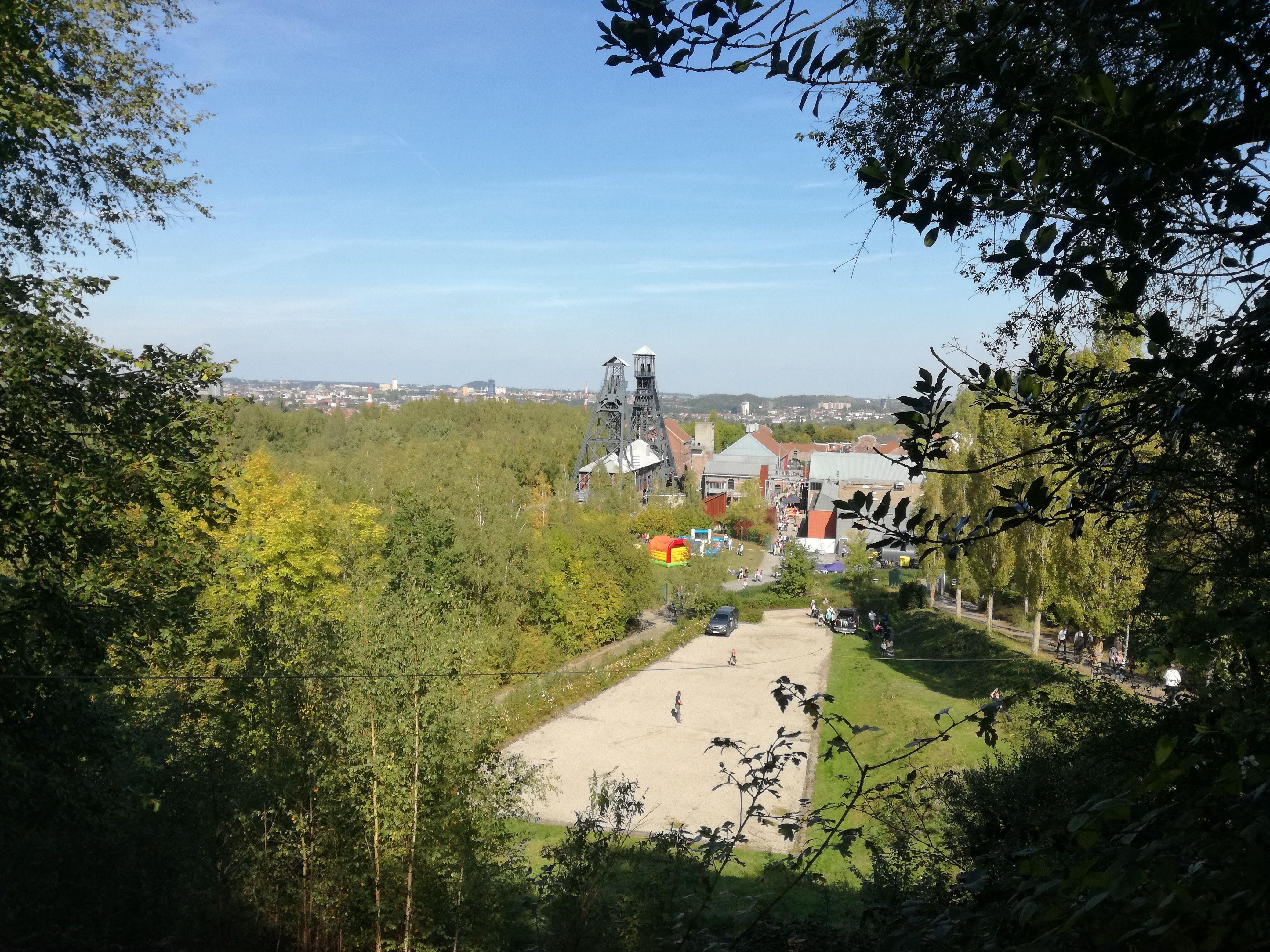 Le site du Bois du Cazier de Marcinelle